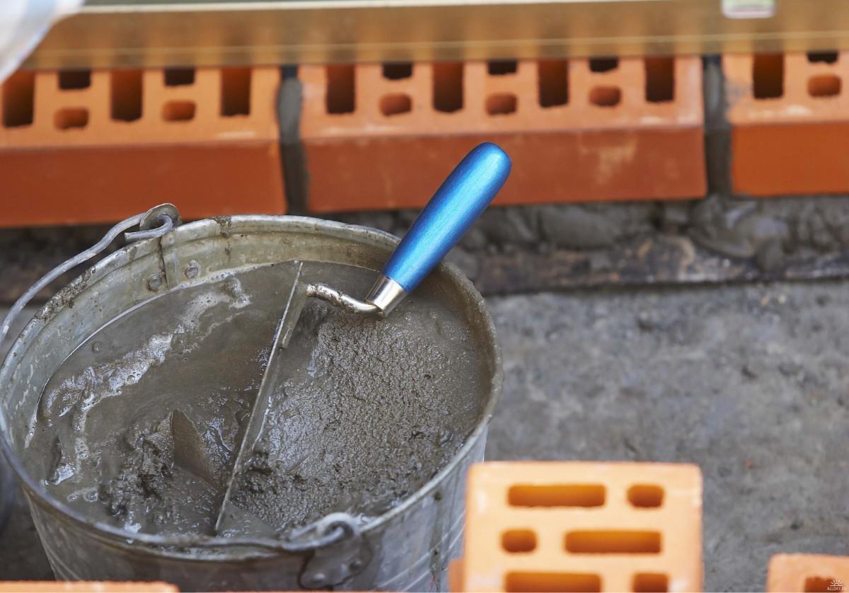 перевести раствор в цементный